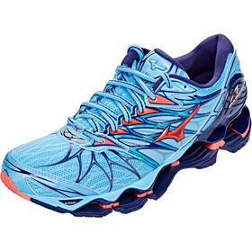 Mizuno Wave Prophecy 7 Shoes Women aquarius/hot coral/pearl blue